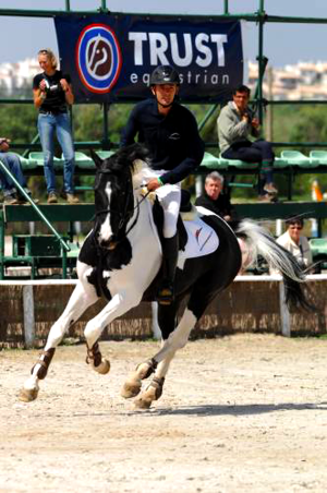 Commander canter in 2010 with